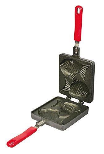 パール金属 たい焼器 ガス火専用 フッ素加工 おやつDEっSE D-419
