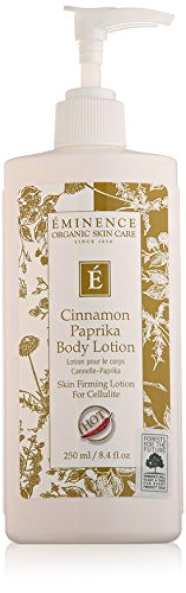 研磨埋める豚Eminence Cinnamon Paprika Body Lotion, 8 Ounce by Eminence Organic Skin Care