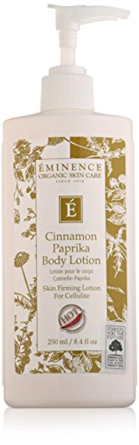 イブ折り目埋めるEminence Cinnamon Paprika Body Lotion, 8 Ounce by Eminence Organic Skin Care