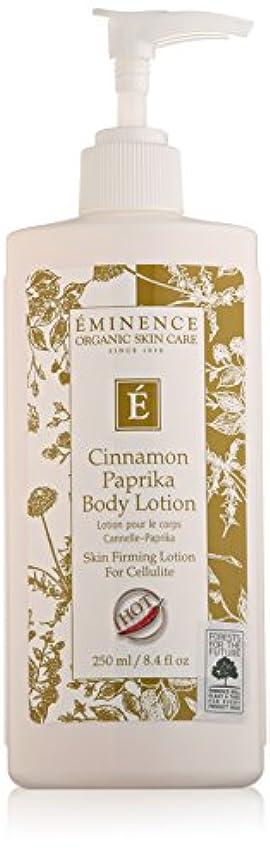 十億和エイリアスEminence Cinnamon Paprika Body Lotion, 8 Ounce by Eminence Organic Skin Care