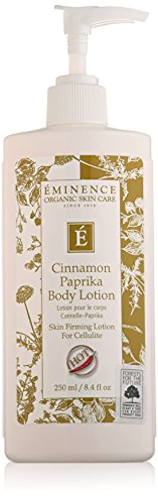 メディック昨日悪行Eminence Cinnamon Paprika Body Lotion, 8 Ounce by Eminence Organic Skin Care