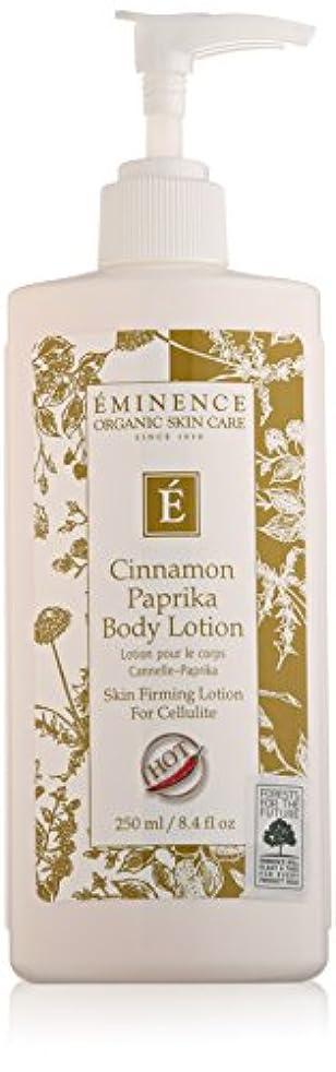 認識元気シェトランド諸島Eminence Cinnamon Paprika Body Lotion, 8 Ounce by Eminence Organic Skin Care