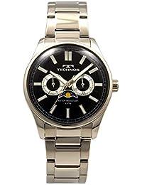 [テクノス]TECHNOS 腕時計 マルチファンクション ムーンフェイズ T5678SB メンズ