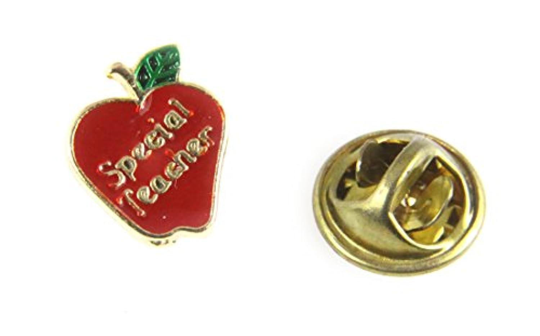 6030293特別な先生AppleラペルピンAppreciation Year End Gift Present