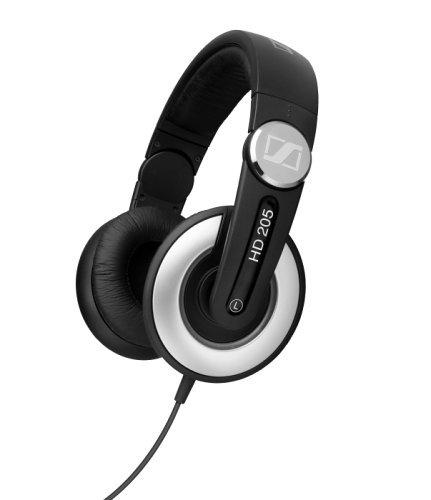 Sennheiser HD 205 Studio Monitor DJ Headphones w/ Swivel Ear Cup (Old Version) [並行輸入品]