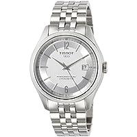 [ティソ] TISSOT 腕時計 バラード オートマティック COSC パワーマティック80 シルバー文字盤 ブレスレット T1084081103700 メンズ 【正規輸入品】