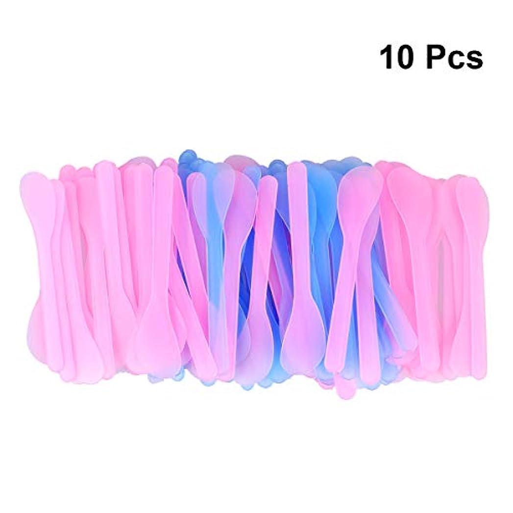 スロープ縫うドライSUPVOX 100ピース化粧品スキンケアフェイスクリームマスク混合ヘラアプリケータツール