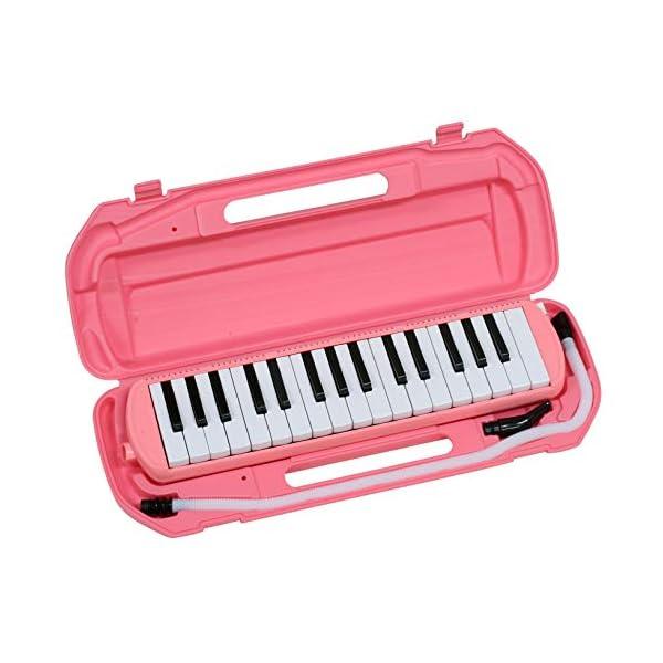 キクタニ 鍵盤ハーモニカ 32鍵 ピンク MM...の紹介画像3