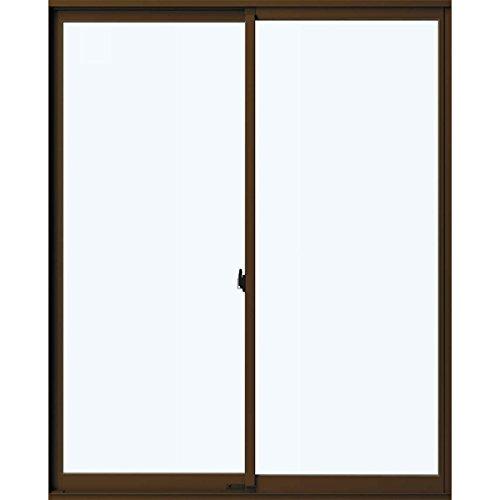 YKKap アルミサッシ 引違いテラス フレミングJ 単板硝子 2枚建 サッシ寸法W(巾)1690*H(高さ)1830ミリ 16518