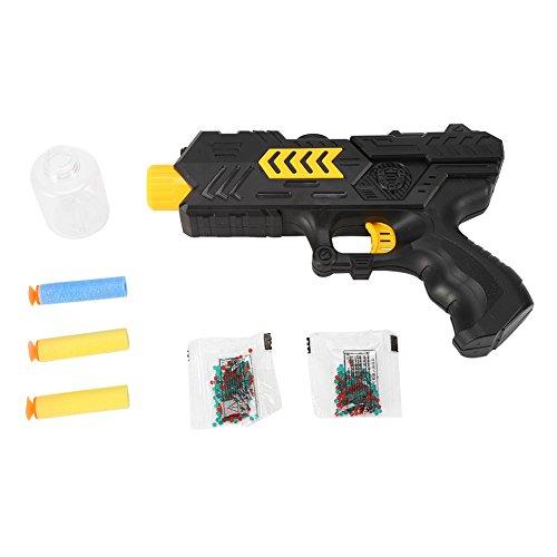 ウォータービーズガン ソフト弾 おもちゃ 水で膨らむ魔法の弾丸 水弾 クリスタル弾 2in1コッキング式エアガン 玩具銃