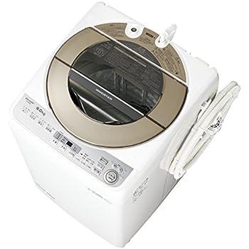 シャープ 全自動洗濯機 9kgタイプ ゴールド系 ESGV9B-N