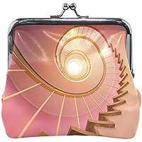 がま口 財布 口金 小銭入れ ポーチ 段階 ピンク Jiemeil バッグ かわいい 高級レザー レディース プレゼント ほど良いサイズ