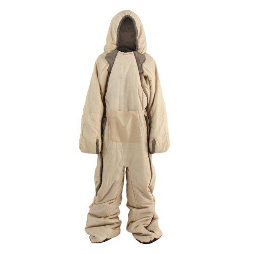DOPPELGANGER OUTDOOR(ドッペルギャンガーアウトドア) ヒューマノイドスリーピングバッグ 人型寝袋 ver.4.0 DS-01 Andy [最低使用温度 5度]