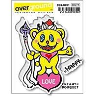 OGS-0701 CREAMY BOUQUET CREAMY BEAR アーティストグッズ イラストレーターステッカー