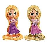 Q posket Disney Characters -Rapunzel Girlish Charm- ラプンツェル フィギュア 全2種セット(通常カラーVer./特別カラーVer.)