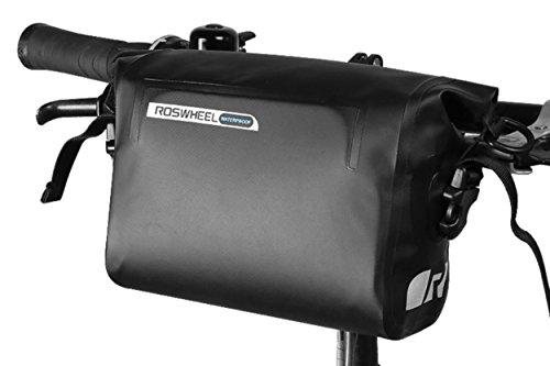 自転車フロントバッグ 防水 自転車用バッグ 3L トップチュ...