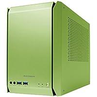 AS Enclosure RS01 PCケース オリーブグリーンアルマイ ト ASE-RS01-GR