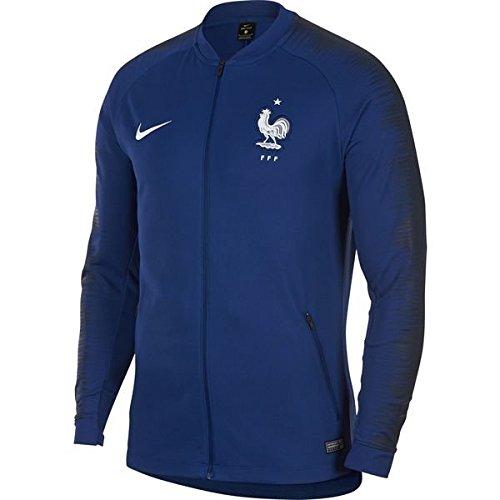 NIKE(ナイキ) フランス代表 2018 アンセムジャケット(ブルー) 893590-455 (インポートS)