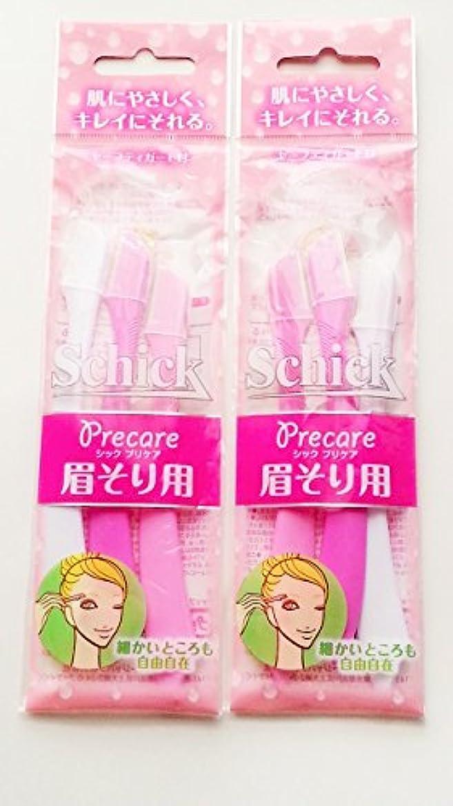 触覚フォアマン理容師【まとめ買い】シック まゆのお手入れに 3本入 ×2セット