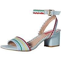 Betsey Johnson Women's Farrah Heeled Sandal
