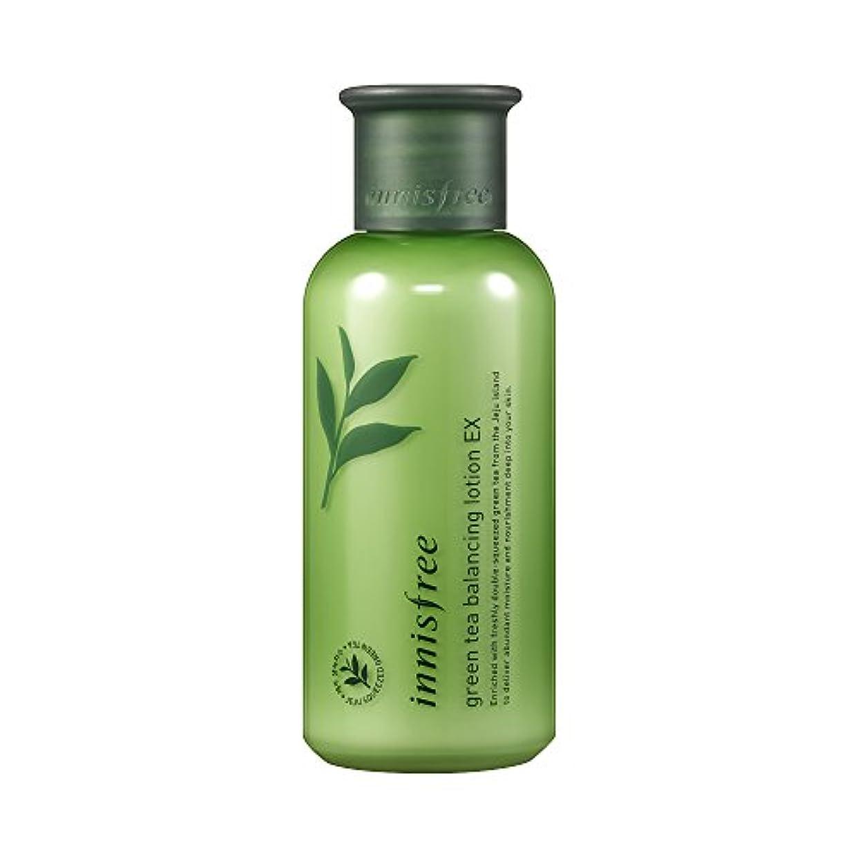 ギャザー争い洗うイニスフリー日本公式(innisfree) グリーンティー バランシングローション[乳液]160mL