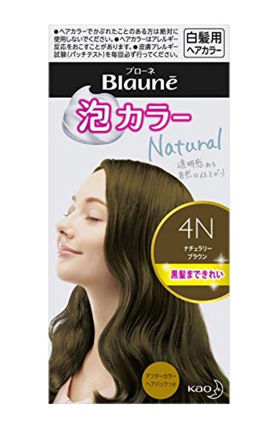 ブローネ 泡カラー 4N ナチュラリーブラウン 108ml [医薬部外品]