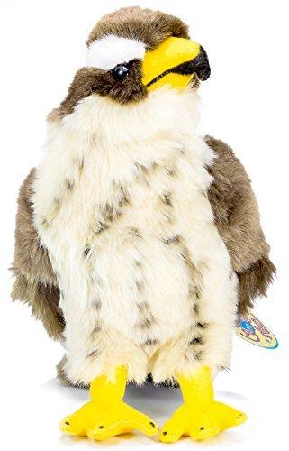 Perry the Peregrine Falcon | 10 Inch Hawk Stuffed Animal Plush Bird | By Tiger Tale Toys [並行輸入品]