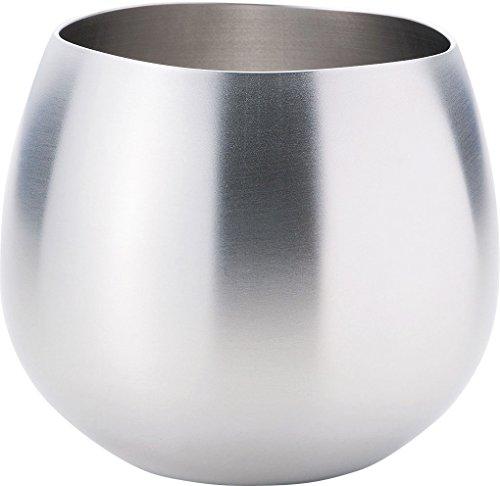 和平フレイズ ロックグラス シルバー 約Φ90×76mm(口径:約Φ70mm) EM-9607