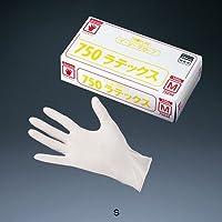 オカモト イージーグローブ ラテックス No.750 (粉付)(100枚入) S 全長23cm