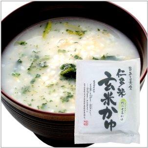 【予約】 仁多米玄米七草かゆ 1人前 1袋 【送料別】