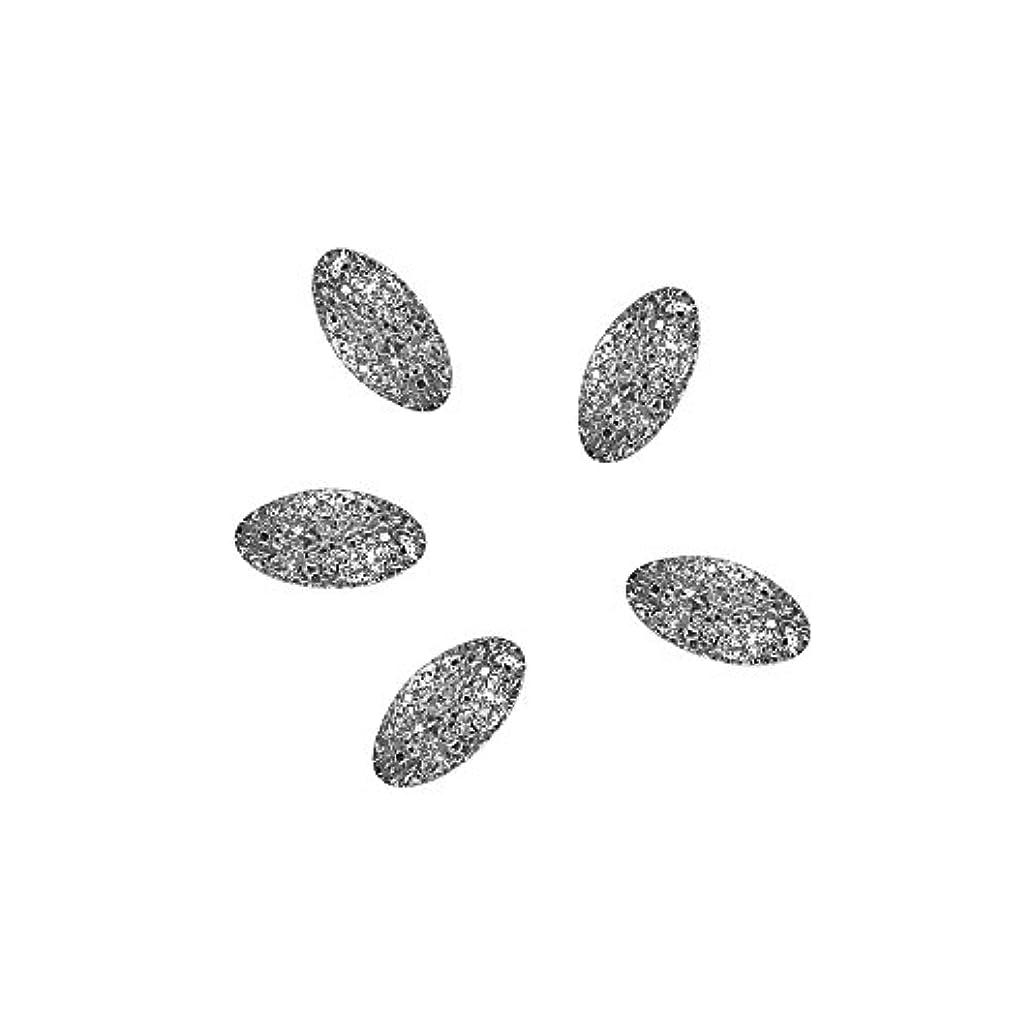 検証球状投票Bonnail ラフスタッズシルバー オーバル2×1mm