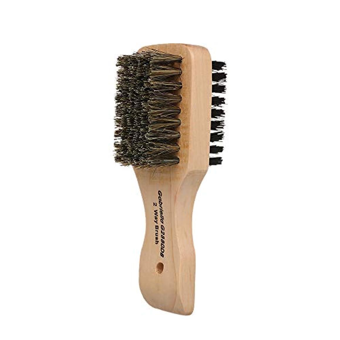 人物悪性の自分の力ですべてをするDecdeal シェービングブラシ メンズ 理容 洗顔 髭剃り