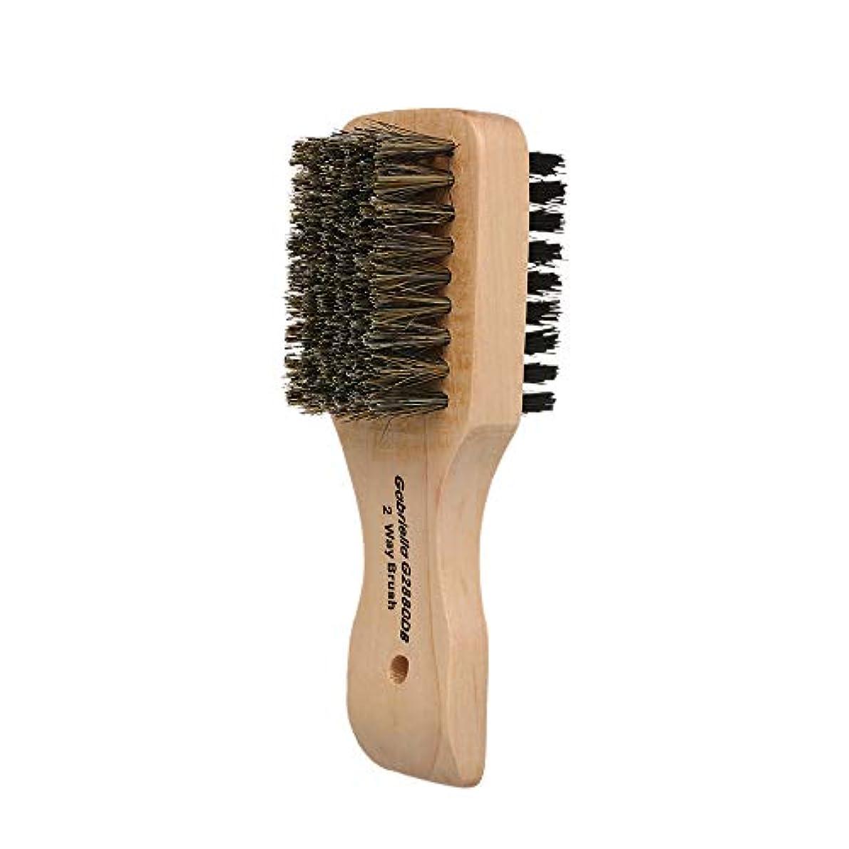 朝隔離幻想的Decdeal シェービングブラシ メンズ 理容 洗顔 髭剃り