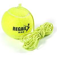 テニストレーナー テニス 練習機 テニスボール 練習用品 個人 トレーニング 軽量 高弾性 耐久性 上達のコツ 子供/ジュニア/初心者に適用 2種類ロープ選択可