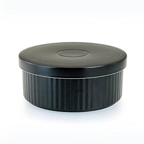 波佐見焼 HASAMI セラミック おひつ 1.5合  ご飯 保存 容器 レンジ 対応 約 900cc φ 17.3cm x 6.5cm