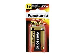 パナソニック 9V形アルカリ乾電池 1本パック 6LR61XJ/1B