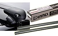 カーメイト INNO イノー スバル GT系 XV用 エアロベースキャリア(フラッシュタイプ) 取付4点セット XS201 + K492 + XB108 + XB108