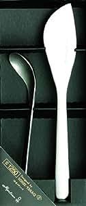 柳 宗理 シュガーレードル・バターナイフ 2点セット#1250 日本製