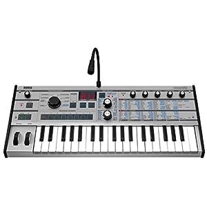 KORG アナログキーボードシンセサイザー ボコーダー microKORG PT マイクロコルグ 37鍵盤 プラチナ・カラー