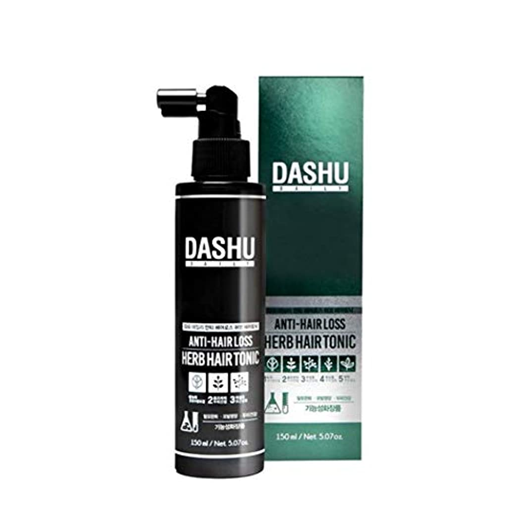 墓規定階段ダシュデイリーアンチヘアロスハブヘアトニック150ml韓国コスメ、Dashu Daily Anti-Hair Loss Herb Hair Tonic 150ml Korean Cosmetics {並行輸入品]