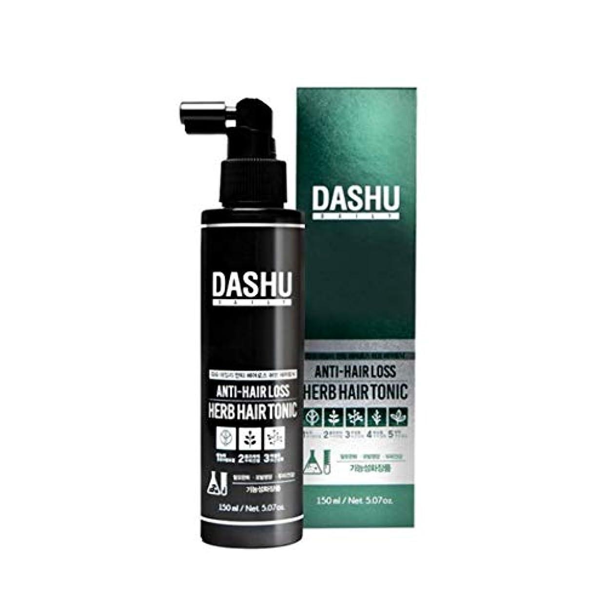 雪の容量今ダシュデイリーアンチヘアロスハブヘアトニック150ml韓国コスメ、Dashu Daily Anti-Hair Loss Herb Hair Tonic 150ml Korean Cosmetics {並行輸入品]