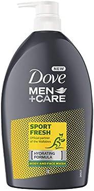 Dove Men Body Wash Sport Fresh, 1L