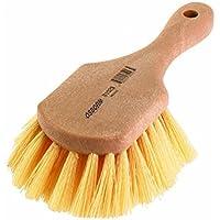 Osborn International 81017SP Economy Utility Scrub Brush with Short Wood Handle, 4-3/4' Brush Area Length [並行輸入品]