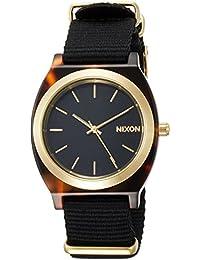 [ニクソン]NIXON TIME TELLER ACETATE: TORTOISE/BLACK NA327647-00 【正規輸入品】