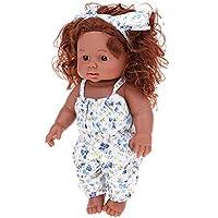 FLAMEER 30cm アフリカベビードール 新生児人形 赤ちゃん人形 おもちゃ
