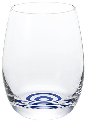アデリア 日本酒グラス クリア(蛇の目模様) 235ml 利き猪口 香りグラス 日本製 6556