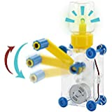 Tenergy ODEV Dynamo Lantern Educational STEM Building Toy Hand Cranked Power Generator Light Bulb Science Experiments Kits for Kids Age 8+