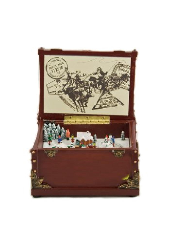 Music box World 53012 オルゴール クリスマス インテリア Music box Kingdom 並行輸入