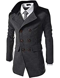 (アルファーフープ) α-HOOP 長袖 アウター スーツ ビジネス コート ジャケット シンプル 柄 大きいサイズ COT1