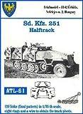 おもちゃ Friulmodel ATL61 1:35 Metal Track Link Set for SDKFZ. 251 [並行輸入品]